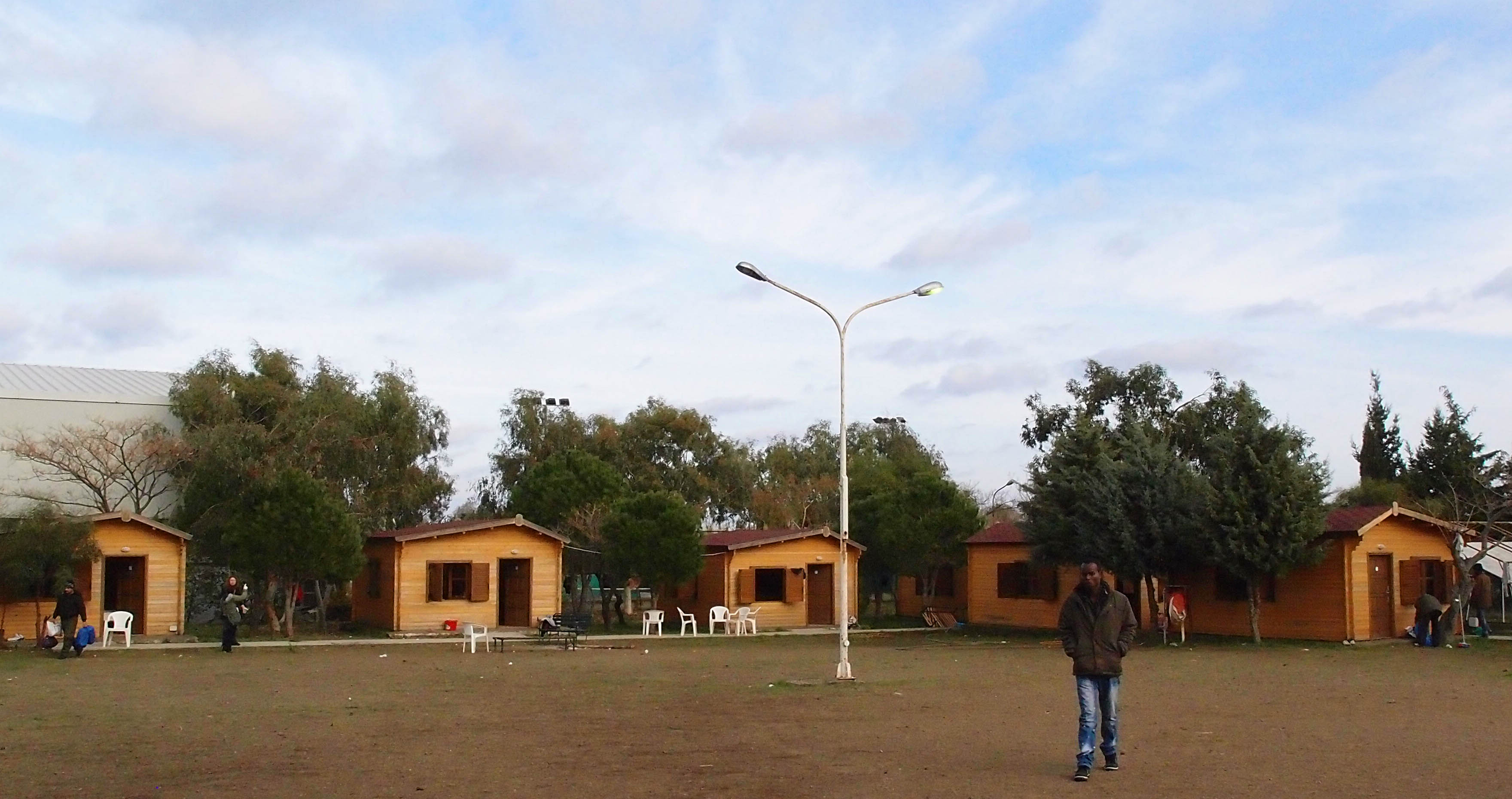 "PIKPA  - welcome centre, run by the local solidarity group  ""village of all together"""