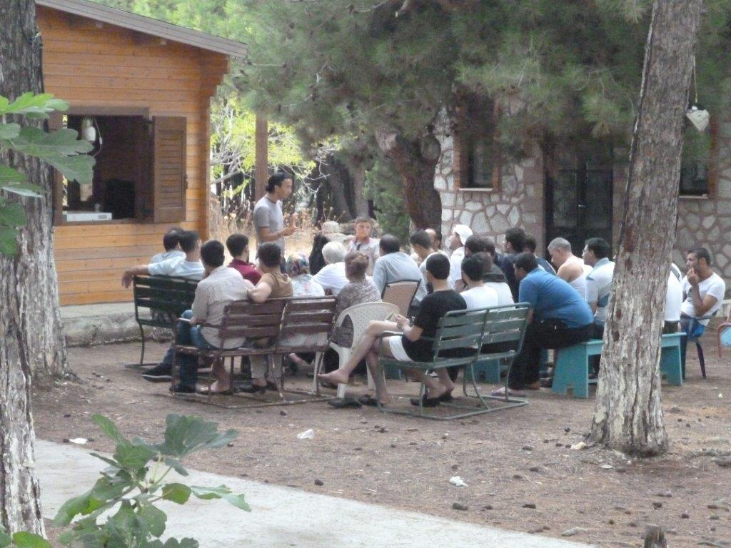 Newcomers are welcomed in Pikpa