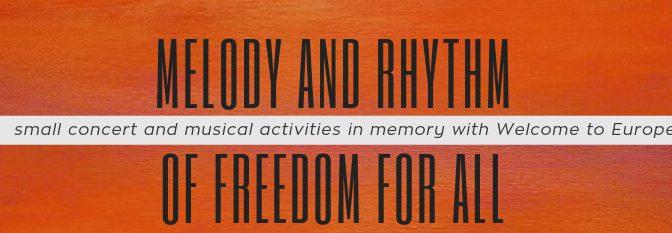 Arabic Invitation: melody and rhythm of freedom for all
